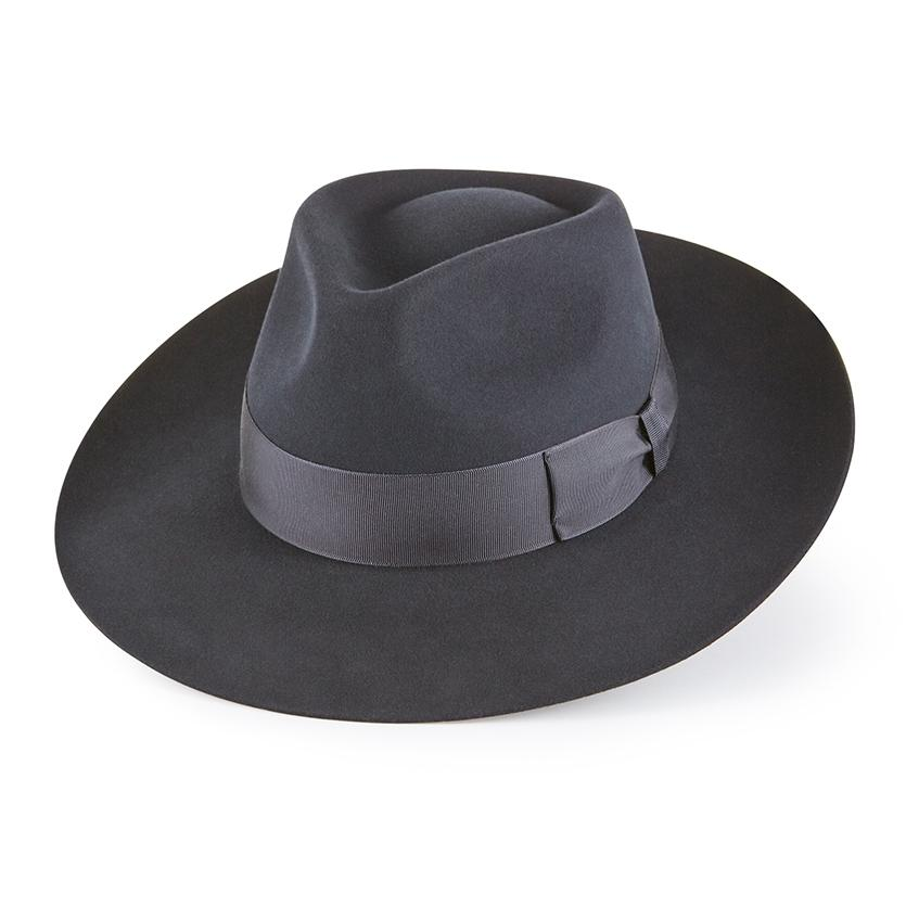 Escorial Wool Stafford fedora - Fedoras & homburgs - Lock & Co. Hatters London UK