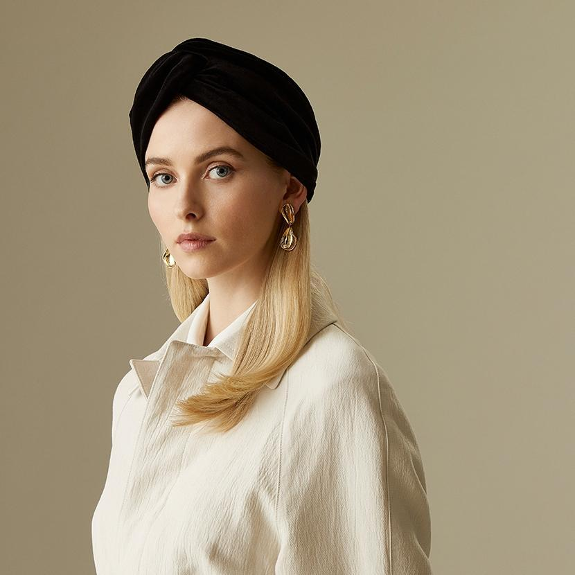 Velvet bandeau - Bandeaus & turbans - Lock & Co. Hatters London UK
