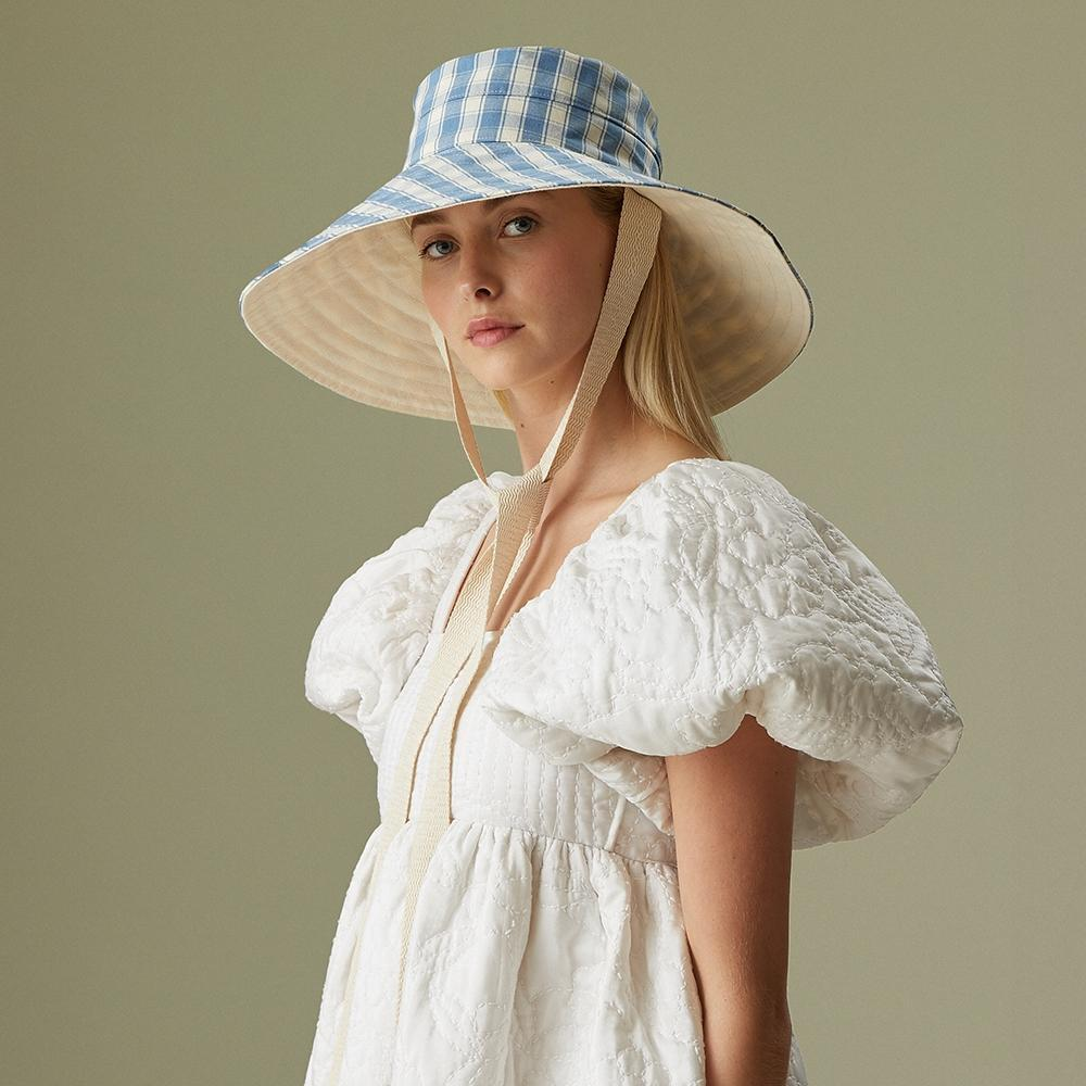 Vence Linen sun hat - Women's hats - Lock & Co. Hatters London UK