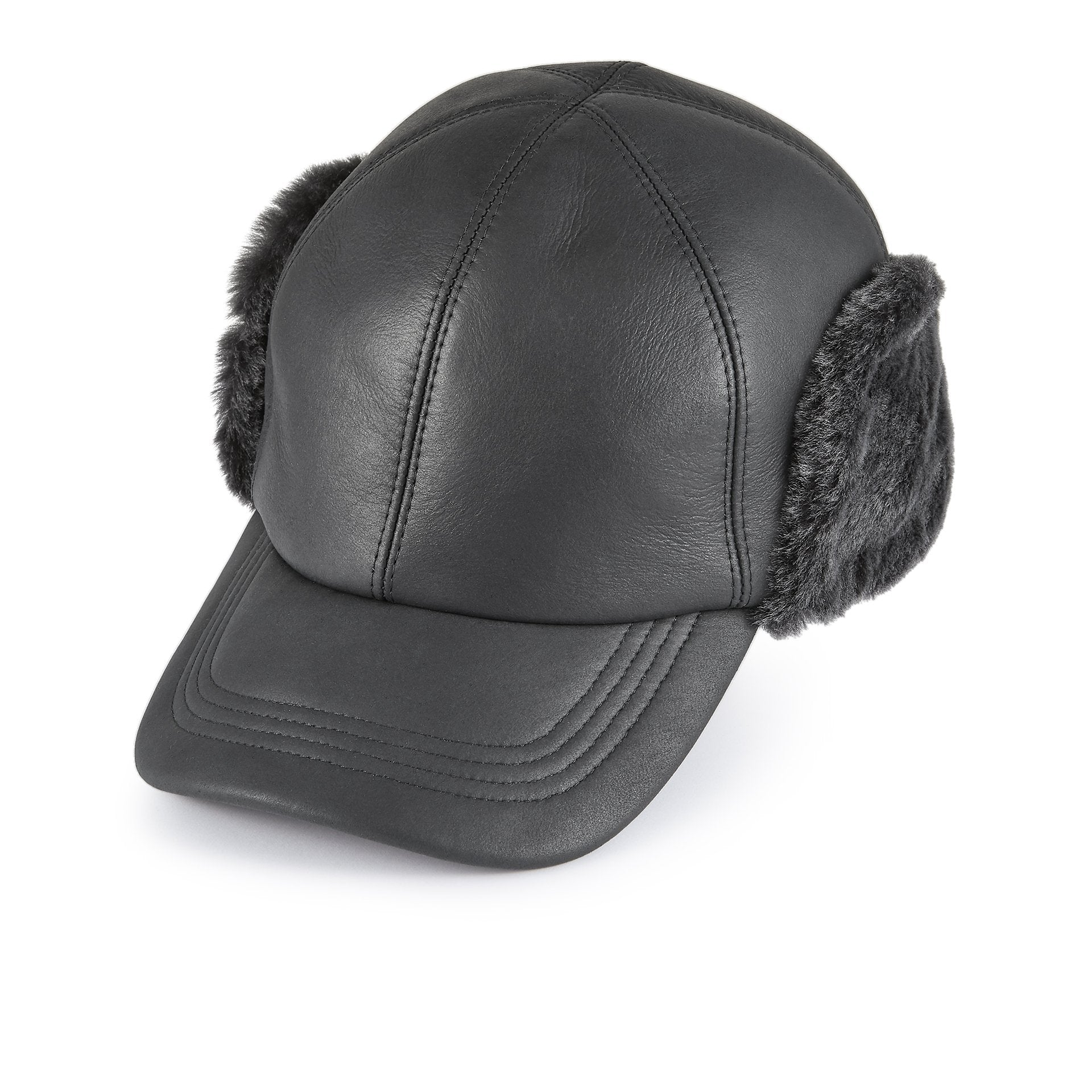 Winnipeg sheepskin baseball cap - Christmas Gifts - Lock & Co. Hatters London UK