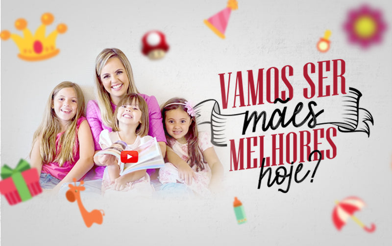 Canal do Manual da Mamãe no YouTube ultrapassa 500 mil visualizações