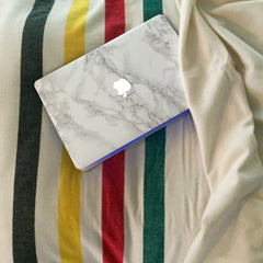 Marble Mac Cover Sticker - Marble MacBook Decals - 3