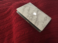 Marble Mac Cover Sticker - Marble MacBook Decals - 2