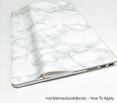 Marble Mac Cover Sticker - Marble MacBook Decals - 9