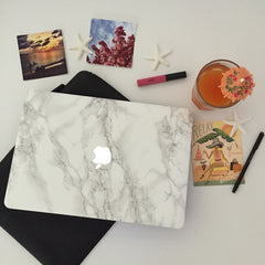 Marble Mac Cover Sticker - Marble MacBook Decals - 11