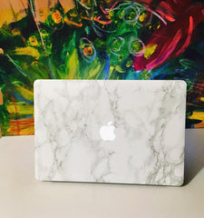 Marble Mac Cover Sticker - Marble MacBook Decals - 4