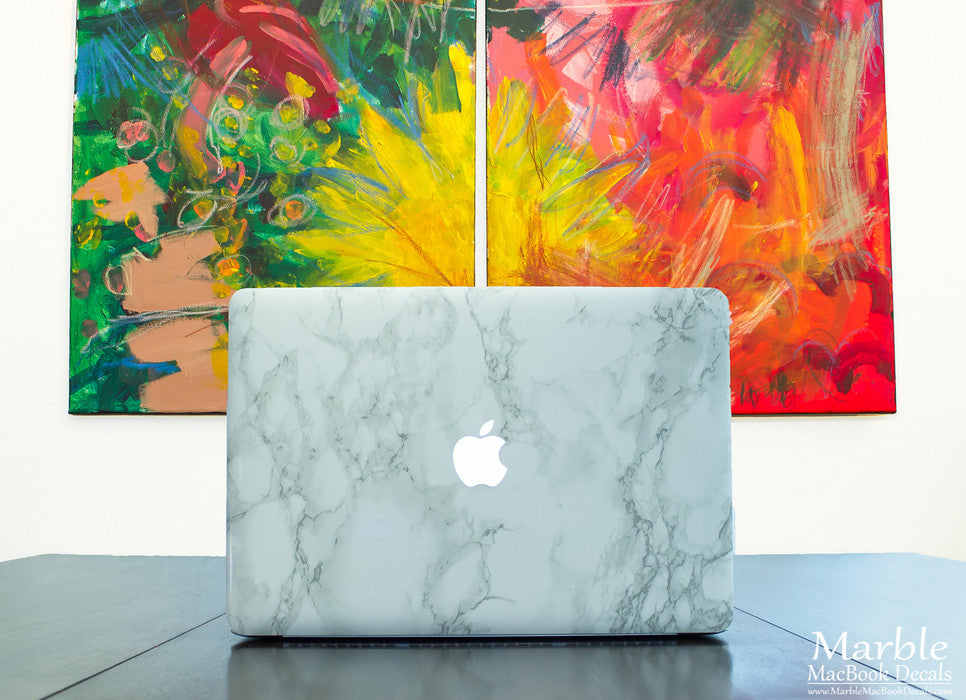 Marble MacBook Decal