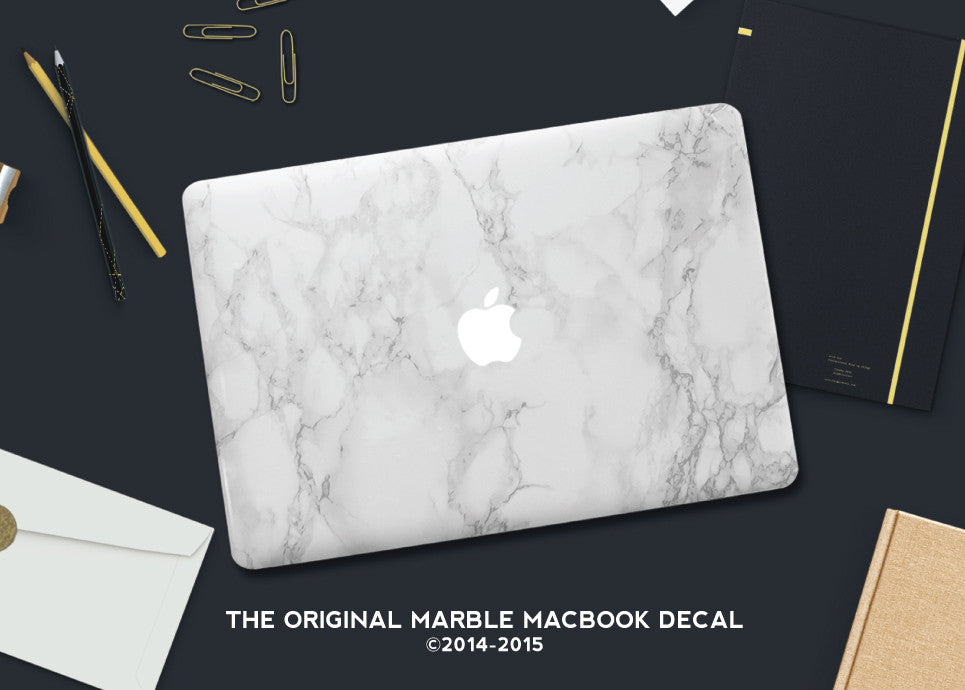 Marble Macbook Laptop Cover