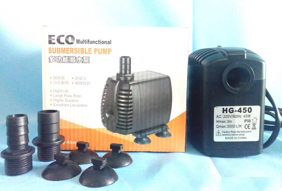 Submersible pumps and air pumps