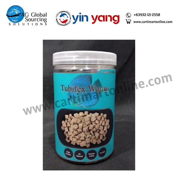 Breeder's Choice Tubifex worms 500mL - cartimartonline.com