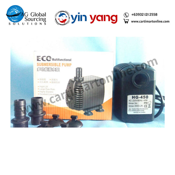 Compact Type Submersible Pump 3000 LPH Breeders Choice brand - cartimartonline.com