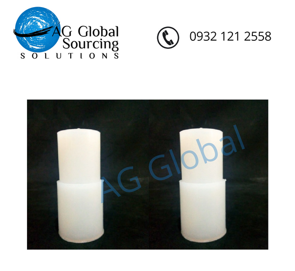 Silicone rubber adapter coupling 1/2  x 3/4  (2 pcs per pack) - cartimartonline.com