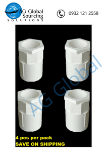 Bulkhead fitting slim type 3/4 inch (4 pcs per pack) - cartimartonline.com