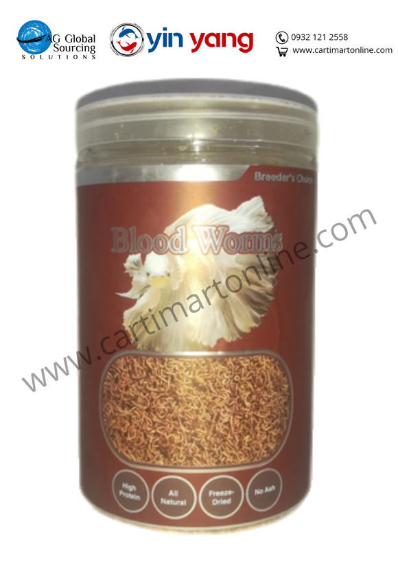 Breeder's Choice Bloodworms (500 ml) - cartimartonline.com