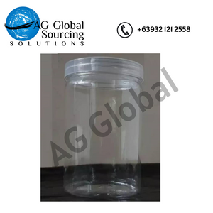 PET jar bottle 85mm diameter x 135mm height (packs of 4) - cartimartonline.com