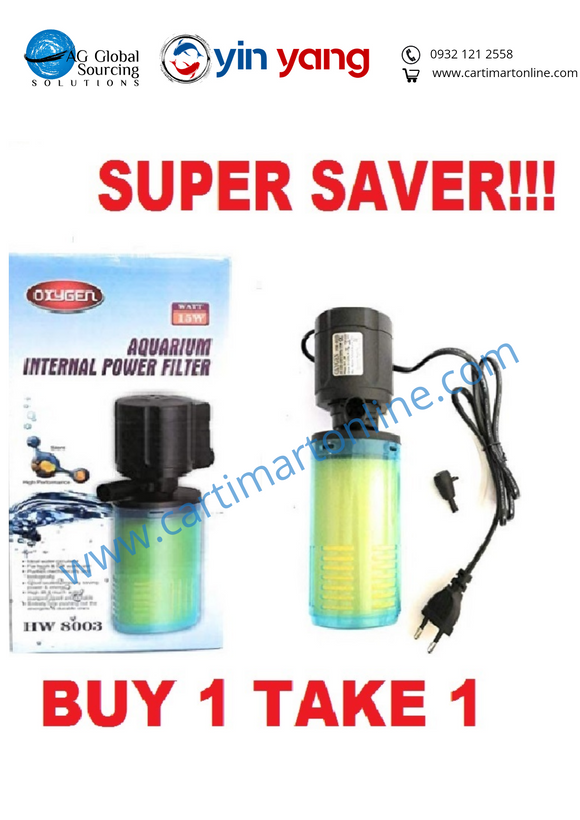 Buy 1 Take 1 Aquarium Internal Filter - cartimartonline.com