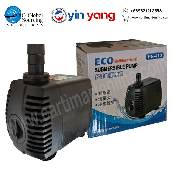 submersible pump 1500lph