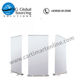Roll Up Banner Stand 2ft x5ft - cartimartonline.com