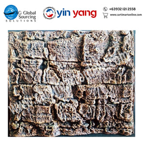 3D Aquarium Background Brick Stone (Red)  PU004-B - cartimartonline.com