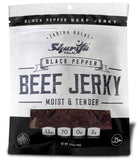Sharifa Halal Beef Jerky, Black Pepper, (3) 2.85 oz. Bag – Great Everyday Halal Jerky Beef Meat Snack, 100 % Real Zabiha Halal Beef, 13g of Protein, 70 Calories, 0g Trans Fat, & 2g of Carbohydrates