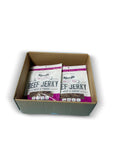 SHARIFA HALAL BEEF JERKY, SWEET BBQ, (1 CASE) (12-2.85 OZ. BAGS) – GREAT EVERYDAY HALAL JERKY BEEF MEAT SNACK, 100 % REAL ZABIHA HALAL BEEF, 12G OF PROTEIN, 80 CALORIES, 0G TRANS FAT, & 2G OF CARBOHYDRATES
