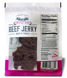 Sharifa Halal Beef Jerky, Sweet BBQ, (1) 2.85 oz. Bag – Great Everyday Halal Jerky Beef Meat Snack, 100 % Real Zabiha Halal Beef, 12g of Protein, 80 Calories, 0g Trans Fat, & 2g of Carbohydrates