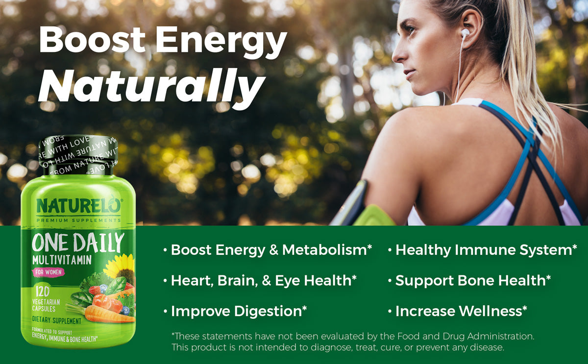 One Daily Multivitamin for Women Benefits