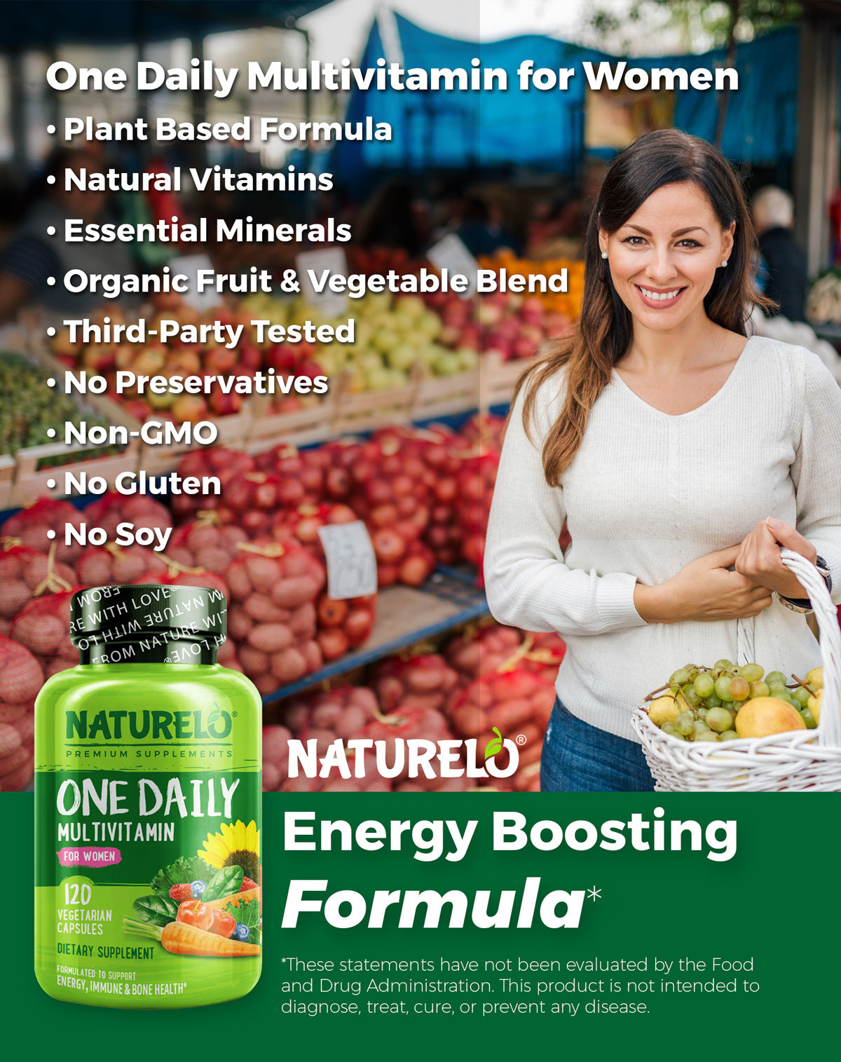 One Daily Multivitamin for Women Features