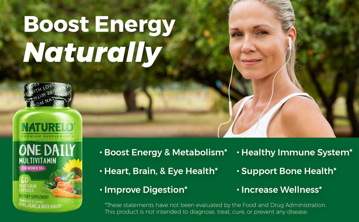 One Daily Multivitamin for Women 50+ Benefits