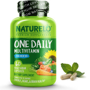 One Daily Multivitamin for Men 50+