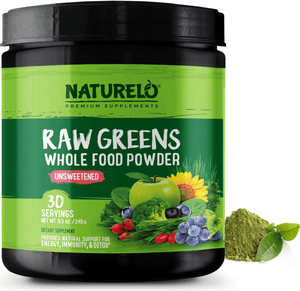 Raw Greens Powder - Unsweetened