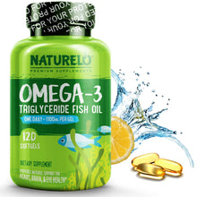 Load image into Gallery viewer, Triglyceride Omega-3 Fish Oil
