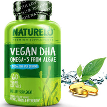 Load image into Gallery viewer, Vegan DHA - Omega-3 from Algae
