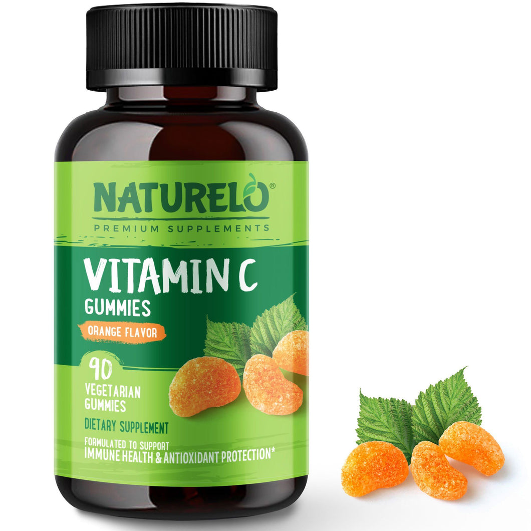 Vitamin C Gummies - Orange Flavor
