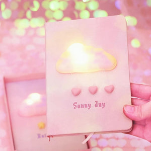 Kawaii Pink Dream Cloud Notebook | RK1493