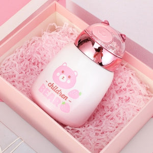 Cute Stainless Steel Thermal Bottle | RK1430