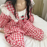 Kawaii Cherry Pajamas Set | RK1451