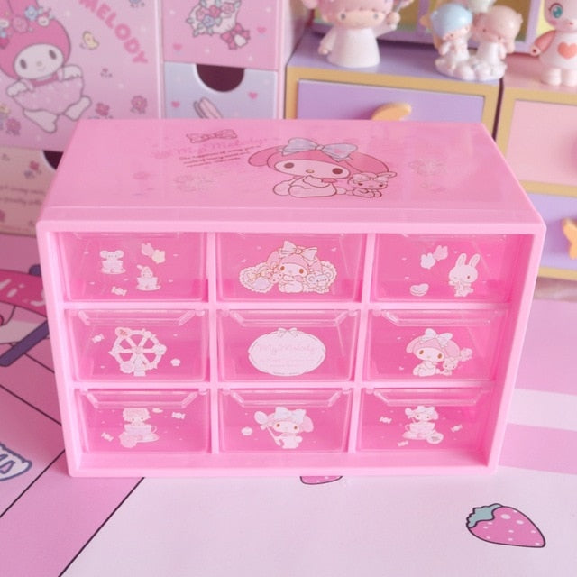 Cute 9-Grid Storage Kawaii Box | RK1339