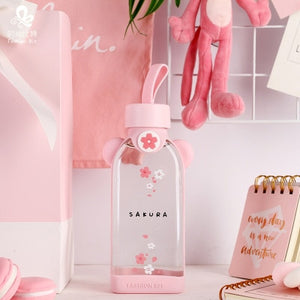 Sakura Glass Bottle | RK1429