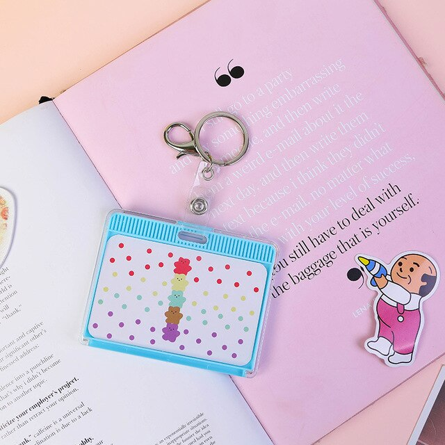 Cute Cartoon ID Card Holder | RK1355