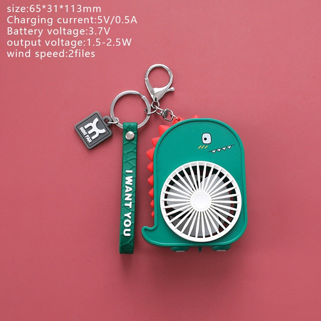 Cute Animals Mini-Hold Pocket Fans | RK1454