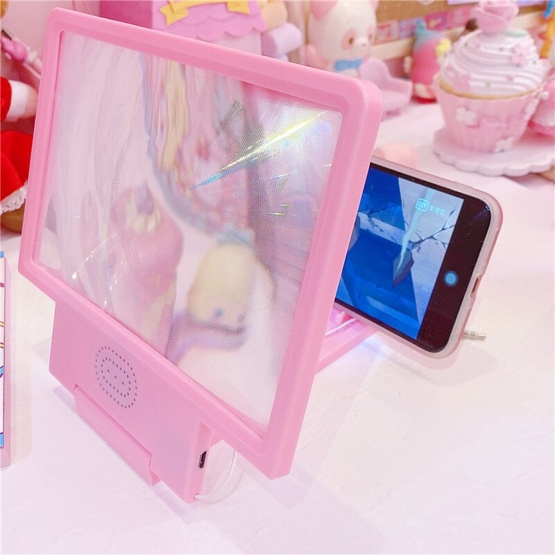 Pink Mobile Phone Screen Amplifier | RK1569