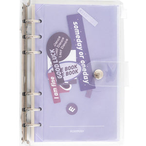 A6 PVC Storage Loose-leaf Notebooks | RK1428