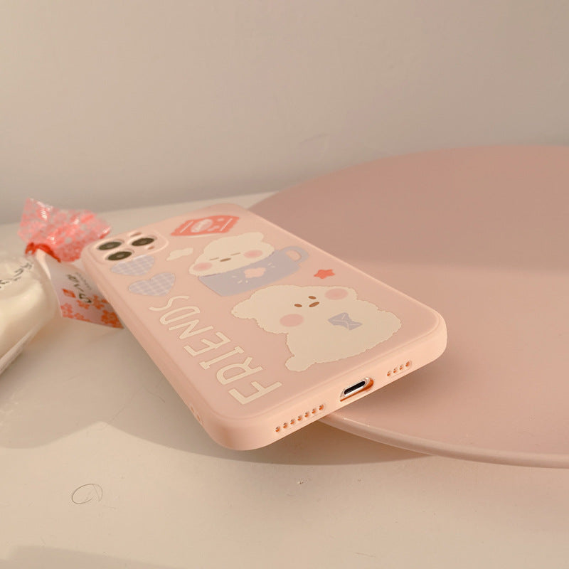 Sweet Kawaii Plush Bunny Phone Case | RK1513