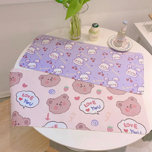 Kawaii Animals Big Mousepad | RK1477