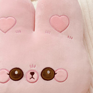 Kawaii Rabbit and Bear Sofa Cushion 35cm | RK1522
