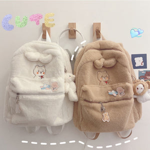 Plush Kawaii Backpack | RK1533