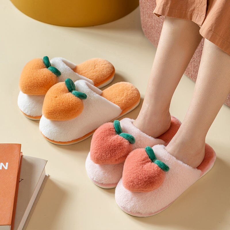 Plush Fruit Slippers | RK1567