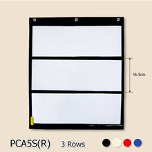 Load image into Gallery viewer, BAGTORY A5 Size Large Grid Pocket Chart | PCA5 | can be used as notice board (to place school notice / bills inside pocket) for both kids and adults