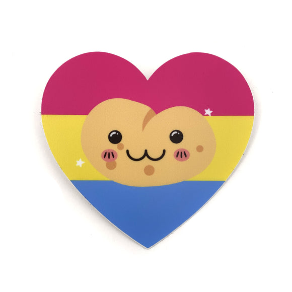 Pansexual Potato Sticker